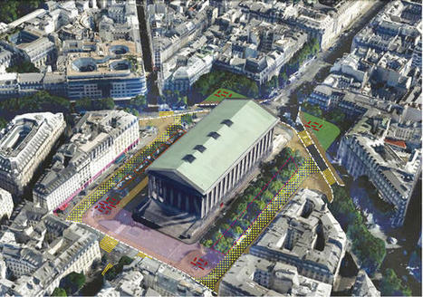 Paris Is Redesigning Its Major Intersections For Pedestrians, Not Cars | movilidad sostenible | Scoop.it