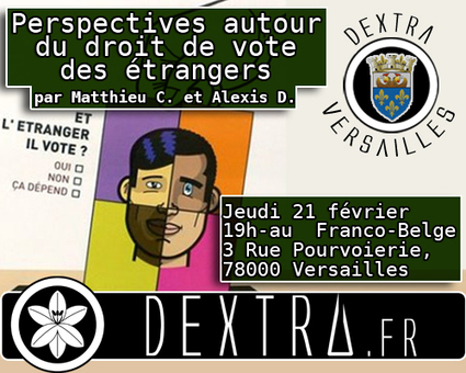 21/02 Conférence « Le droit de vote des étrangers » | Dextra | Vote des étrangers - Belgique | Scoop.it