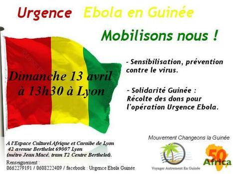 Urgence Ebola en Guinée : des associations lyonnaises se mobilisent. | CULTURE GUINEE | Scoop.it