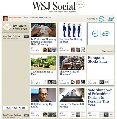 With WSJ Social, the Wall Street Journal wants every user to be an editor | Curation & The Future of Publishing | Scoop.it