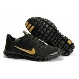 Nike Free 3.0 V2 Mens Shoes all black / gold Australia | Nike Lebron 10 | Scoop.it