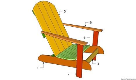 Garden Chair Plans | Free Garden Plans - How to build garden projects | DIY Plans | Scoop.it