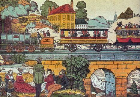 De Paris à St Germain-en-Laye, par le chemin de fer en 1840 | Les Cyber-Généalogistes de Charente Poitevine | tourisme culturel | Scoop.it