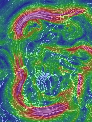When Science is Art: a New Map of Wind Patterns | Geography: Australian Curriculum | Scoop.it
