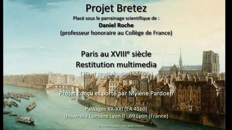 Mylène Pardoen reconstitue les bruits de Paris au XVIIIe siècle | Nos Racines | Scoop.it