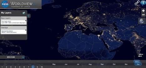 Black Marble : naviguez dans ces incroyables photos nocturnes de la Terre | Education et TICE | Scoop.it