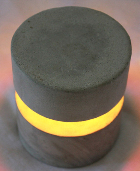 O-Lite Concrete Accent Lamp Looks Great, Won't Break the Bank | scatol8® | Scoop.it