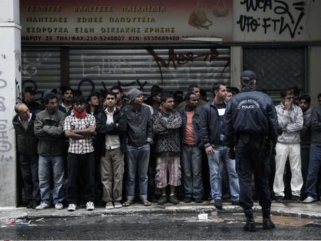 La Grèce bafoue les droits des migrants, avec l'accord de l'Europe - Rue89 | Union Européenne, une construction dans la tourmente | Scoop.it
