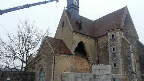 Collan l'église en péril s'effondre | L'observateur du patrimoine | Scoop.it