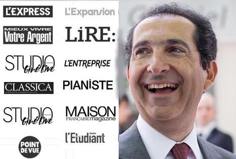 Patrick Drahi va finalement racheter tous les titres de L'Express-Roularta | DocPresseESJ | Scoop.it