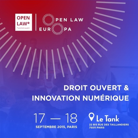 Open Law Europa : quand l'open data juridique décolle... - DILA | Politique, Economie & Social - France & International | Scoop.it