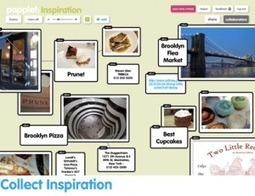 Popplet. Un tableau blanc collaboratif pour la classe. | Web2.0 et langues | Scoop.it