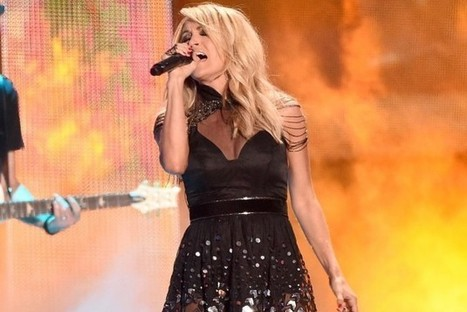Carrie Underwood Hooks Yet Another No. 1 With Hit Song 'Little Toy Guns' | Country Music Today | Scoop.it