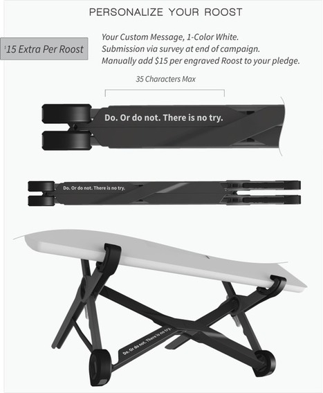 Roost Laptop Stand | Free yourself from laptop neck pain | Innovative Marketing and Crowdfunding | Scoop.it