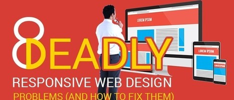 8 Deadly Responsive Web Design Problems (And How To Fix Them) | Productivity-Tips | Scoop.it