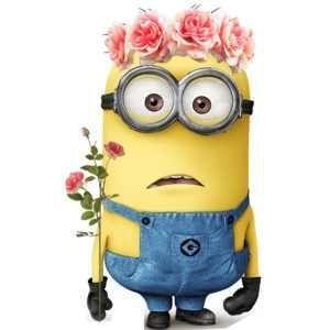 Flower Minion!   Flowers!   Scoop.it