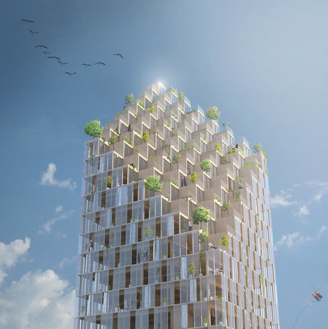 It's Time to Start Building WOODEN Skyscrapers | The Architecture of the City | Scoop.it
