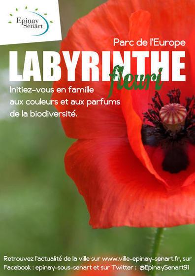 Un Labyrinthe fleuri au parc de l'Europe - Toutes les actualités - + d'actualités - Epinay sous Sénart | Labyrinthes pédagogiques | Scoop.it