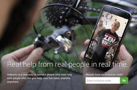 Helpouts, Google quiere revolucionar la enseñanza y los videotutoriales online | eLearningLand | Scoop.it