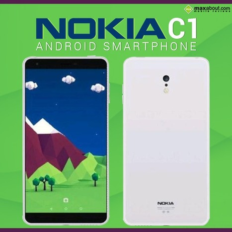 Meet C1 – Nokia's 1st Pure Android Smartphone | Maxabout Mobiles | Scoop.it