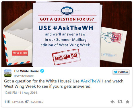 """Summer Mailbag: Ask the White House Your Questions"" 