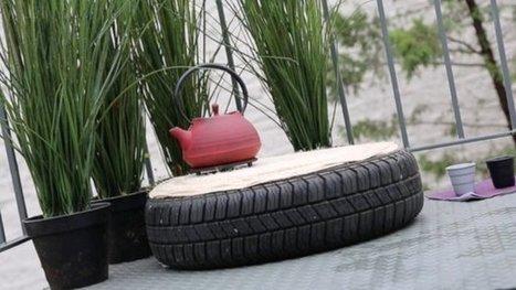 Un pneu se métamorphose en pouf | On dit quoi ? | Scoop.it