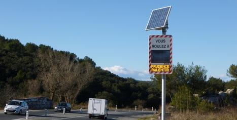 IL Y A 4 ANS... Quatre fois plus de radars pédagogiques au bord des routes - Objectif Gard   Prévention et Signalisation Routière   Scoop.it