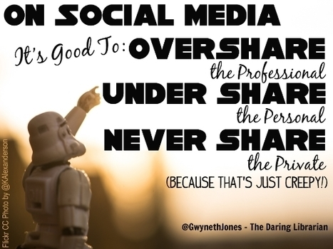 The Daring Librarian: A Shockingly Private Blog Post About Social Media | ANALYZING EDUCATIONAL TECHNOLOGY | Scoop.it