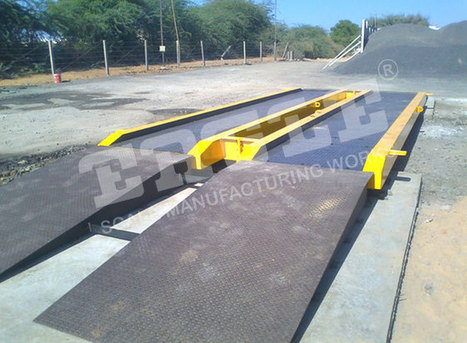 Mobile weighbridge manufacturer, modular weighbridge exporter, axle, unattended, Africa, India   Eagle Scale Manufacturing Works   Scoop.it
