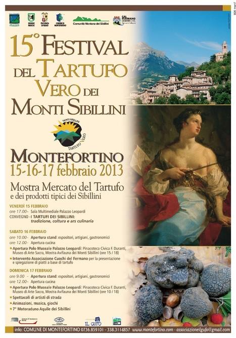 15° Festival del TARTUFO VERO dei Monti Sibillini   Vini & tipicità della regione Marche   Scoop.it