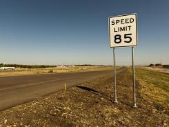 Texas raises speed limit to 85 mph: Other states could, too - USA TODAY | 1ASAP Transport | Scoop.it