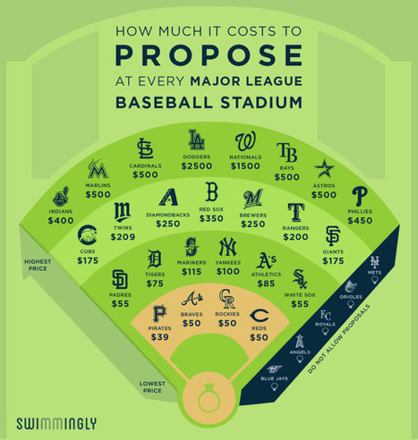 Here's How Much It Costs to Propose at Every Major League Baseball Stadium | Vloasis sex corner | Scoop.it