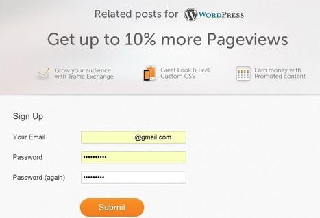 Como poner articulos relacionados en tu blog Wordpress | Blogger 3.0 | Social Media | Scoop.it