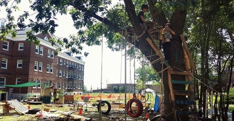 At the Junk Playground, Children Play Freely With Hammers and Saws | Linking Literacy & Learning: Research, Reflection, and Practice | Scoop.it