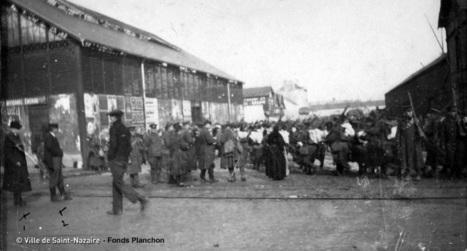 1er février 1915 à Saint-Nazaire - [Archives municipales de Saint-Nazaire] | Histoire 2 guerres | Scoop.it