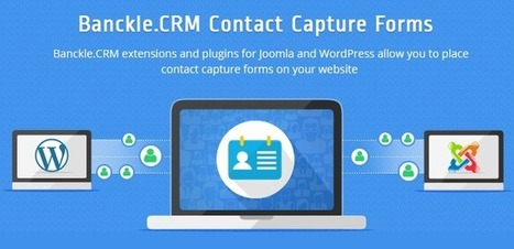 Banckle Newsletter for October 2014: Add Banckle.CRM Contact Capture Form on Joomla and WordPress Websites | Business and Social applications | Scoop.it
