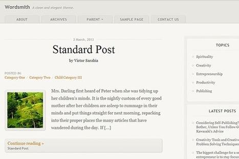 33 Brand New Open Source Wordpress Themes for 2013 | SpyreStudios | Wordpress templates | Scoop.it