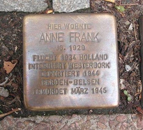 Manifeste pour le Journal d'Anne Frank dans le Domaine Public | Gazette du numérique | Scoop.it