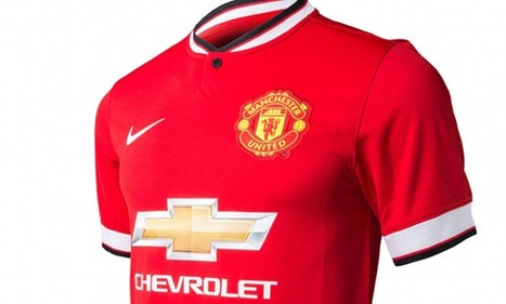 Has Manchester United's new Chevrolet home shirt been leaked online days ... - Daily Mail | tshirts | Scoop.it