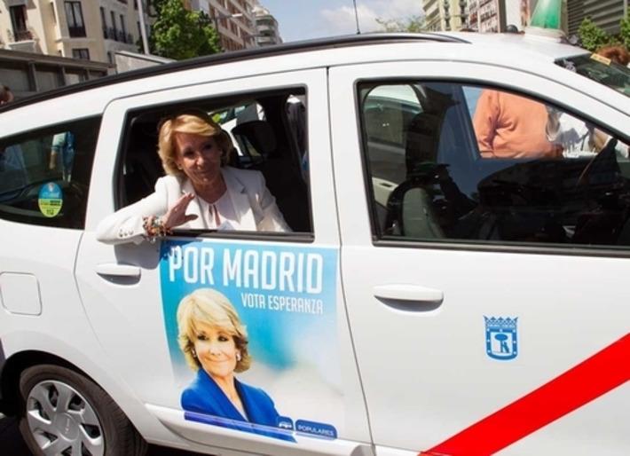 Cada taxista cobrará 50 euros por llevar publicidad del PP durante 15 días   Partido Popular, una visión crítica   Scoop.it