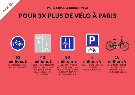 Paris : future capitale mondiale du vélo ? | TRANSITURUM | Scoop.it