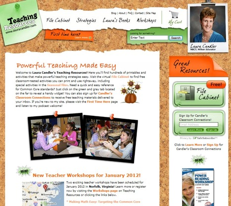 Teaching Resources Website | Laura Candler's Teaching Resources | Scoop.it