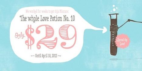 Love Potion No. 10 - Webfont & Desktop font « MyFonts | fonts | Scoop.it