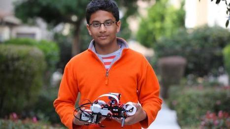 Jovén de 13 años crea impresora con LEGOs e inicia empresa con INTEL   Entrepreneur.com   Innovación, Tecnología y Educación   Scoop.it