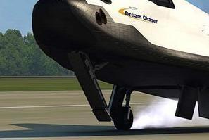 Dream Chaser suffers landing gear failure after first flight | NASASpaceFlight.com | The NewSpace Daily | Scoop.it