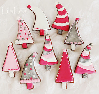 LilaLoa: Pink Christmas Trees | Christmas Decorations | Scoop.it
