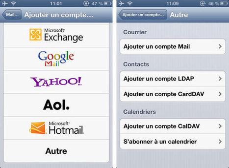 Synchroniser ses contacts Google avec ceux de l'iPhone | Nouvelles de Stalingrad | Scoop.it