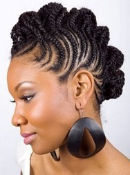 Good and Easy Protective Hairstyles for Short Natural Hair | Women Hairstyles | Scoop.it