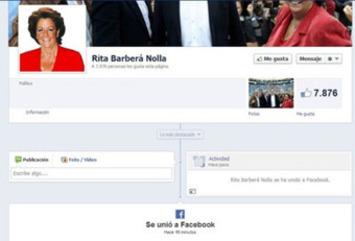 Rita Barberá se crea una página en Facebook y en unos minutos tiene 7.876 fans | Partido Popular, una visión crítica | Scoop.it