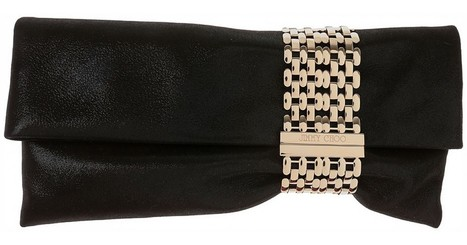 Jimmy Choo Chandra SSW Glitter Clutch - Black | Fashion & lifestyle | Scoop.it